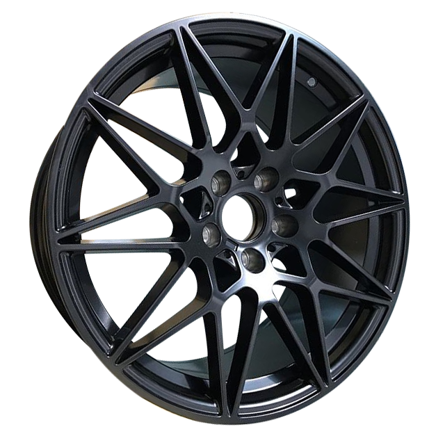 19 Bmw 666m Performance Wheels In Satin Black Autostyling Com