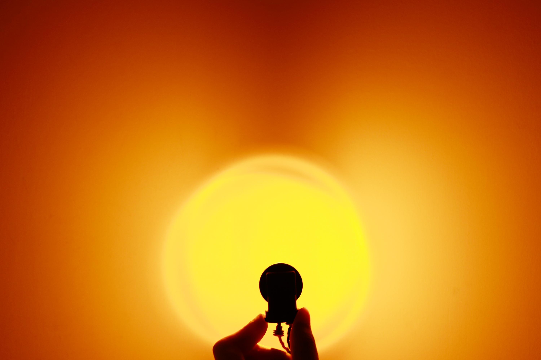 9006 HB4 SuperBright Amber Yellow LED Fog Light Bulb Kit