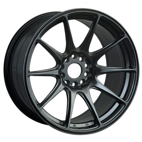 XXR 527's 18x8.75 Black Chrome