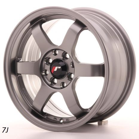 "JR Wheels JR3 15"" 7J Gunmetal"