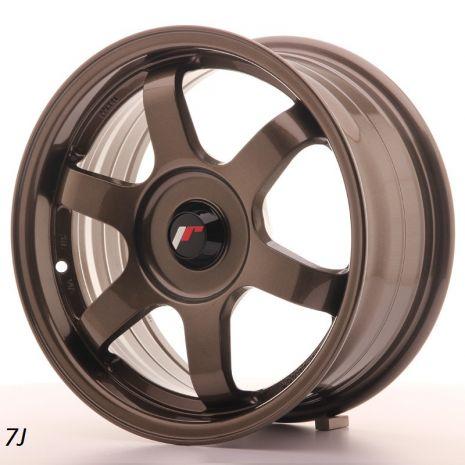 "JR Wheels JR3 15"" 7J Bronze"