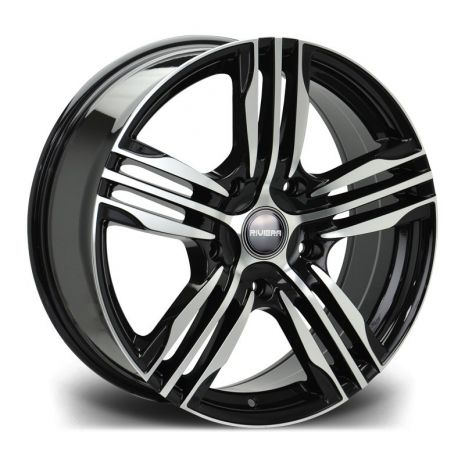 "18"" Riviera Vigor Commercial in Black Polished"